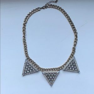BaubleBar Warrior Triad Necklace